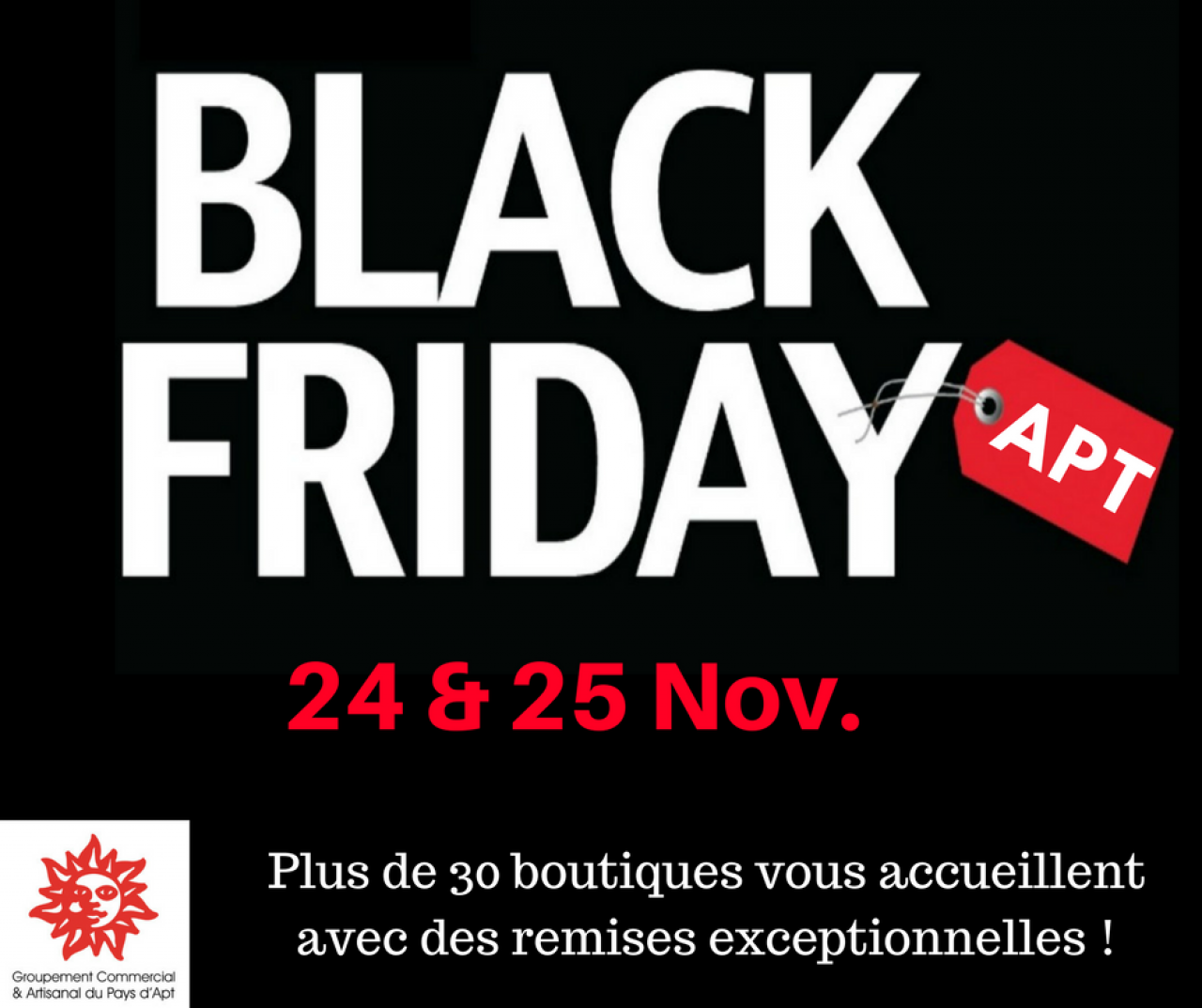 BLACK FRIDAY APT